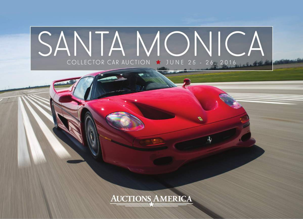2016 Santa Monica Collector Car Auction Catalog Auctions America Yamaha Zuma Ignition Wiring Diagram
